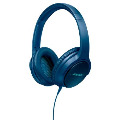 Soundtrue Around Ear Kopfhörer Blau (iOS)