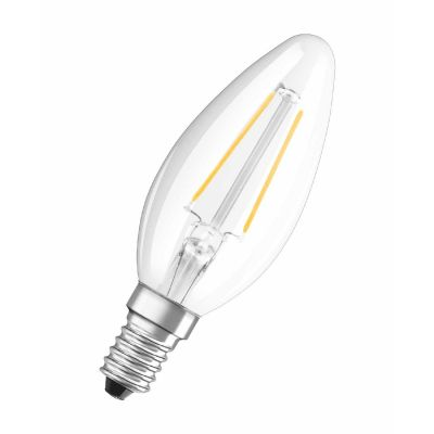 Osram LED Retrofit 2W (=23W), E14 Classic B 25, klar