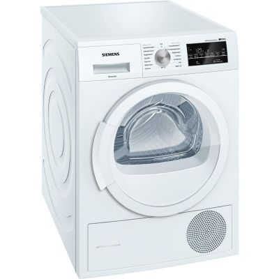 Siemens  WT45W460 iQ500 Wärmepumpen-Wäschetrockner selfCleaning A++ 7kg Weiß
