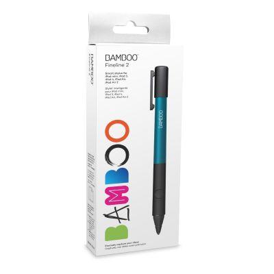 Wacom Bamboo Stylus fineline 2 Eingabestift blau