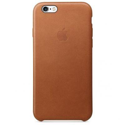 Apple  Case »iPhone 6s Leder Case Sattelbraun«