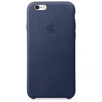 Apple  Case »iPhone 6s Leder Case Blau«