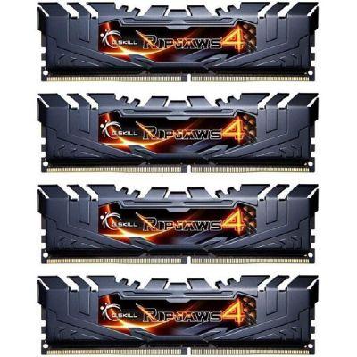 G Skill 16GB (4x4GB) G.Skill RipJaws 4 DDR4-3200 CL16 (16-16-16-36) RAM DIMM Kit