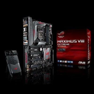 ASUS MAXIMUS VIII EXTREME USB3.1/U.2/M.2/SATAe/HDMI/DP/WiFi Z170 E-ATX Mainboard - Preisvergleich