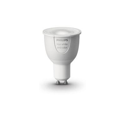 Philips Hue Weiß und farbig GU10, LED-Lampe