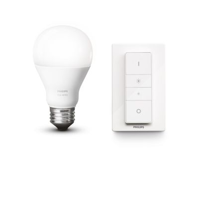 Hue Wireless Dimming Kit - 1 x 10W A60 E27 + Dimmer