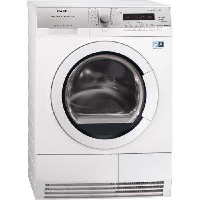 AEG  T77684EIH Lavatherm Wärmepumpentrockner ÖkoFlow A+++ 177kWh/Jahr 8kg Weiß