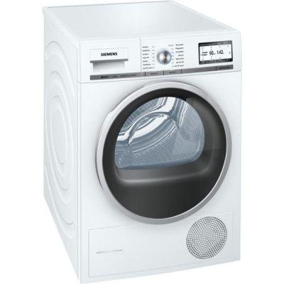Siemens  WT48Y7W3 iQ800 Wärmepumpentrockner A+++ 158kWh/Jahr 8kg Weiß