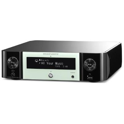 Marantz M-CR511 Melody Stream mit Internetradio, AirPlay, schwarz-weiß