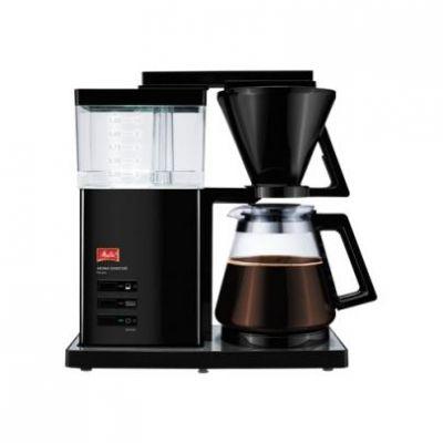 Melitta Aroma Signature DeLuxe 100703 Kaffeemaschine Hochglanz Schwarz