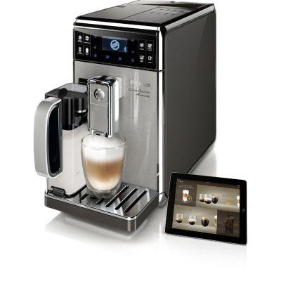 Saeco HD8977/01 GranBaristo Avanti Kaffeevollautomat Edelstahl/Anthrazit