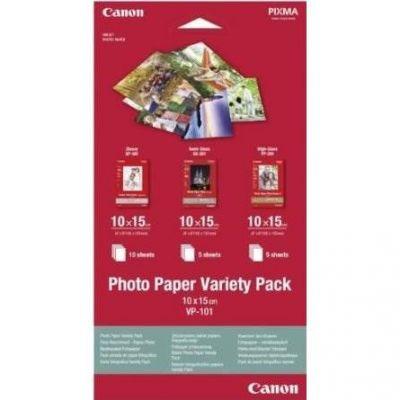 Canon 0775B078 VP-101 Fotopapier Pack 10x15 cm, GP-501/PP-201/SG-201 - Preisvergleich