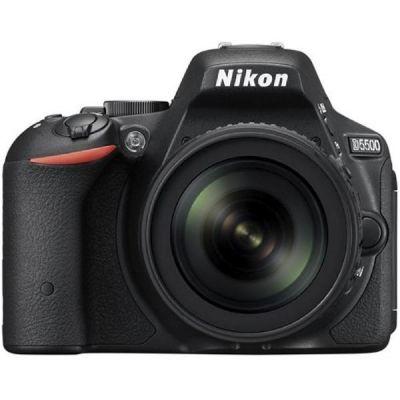 Nikon D5500 Kit AF-S DX 18-105mm VR Spiegelreflexkamera schwarz