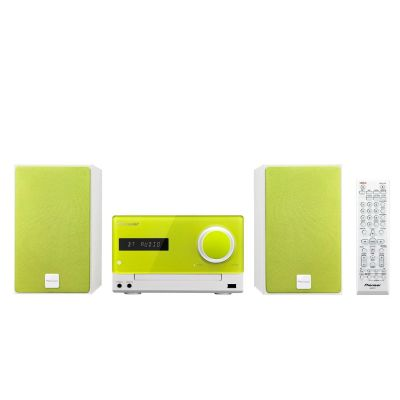 Pioneer X-CM35BT-N Micro HiFi-System mit Bluetooth NFC USB grün