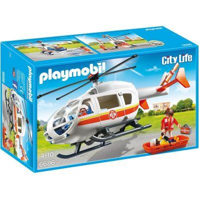 PLAYMOBIL – Rettungshelikopter (6686)