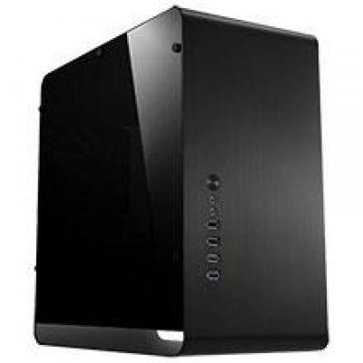 Cooltek  Jonsbo UMX3 Midi Tower mATX Gehäuse mit Seitenfenster, USB3.0,  schwarz