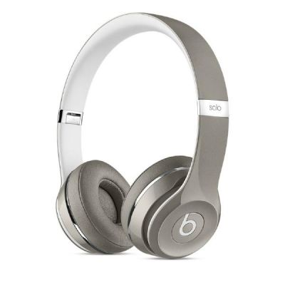 beats by dr dre Beats by Dr. Dre Solo 2 Luxe (MLA42ZM/A) silber