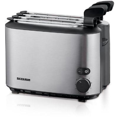 Severin Automatik-Toaster mit Sandwich-Zangen AT 2516