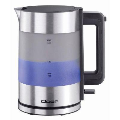 Cloer  4019 Wasserkocher Aluminium