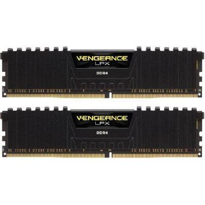 Corsair 16GB (2x8GB)  Vengeance LPX schwarz DDR4-2400 RAM CL16 (16-16-16-39)