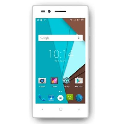 Siswoo A4+ Chocolate white Android Smartphone