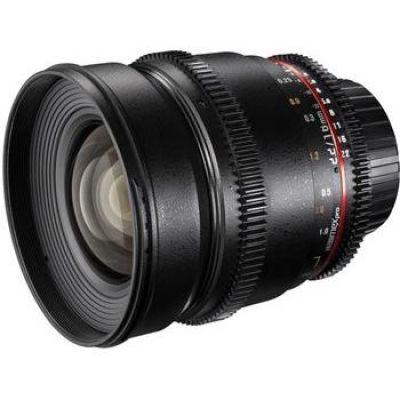 Walimex Pro 16mm f/2.2 Festbrennweite Objektiv für Four...