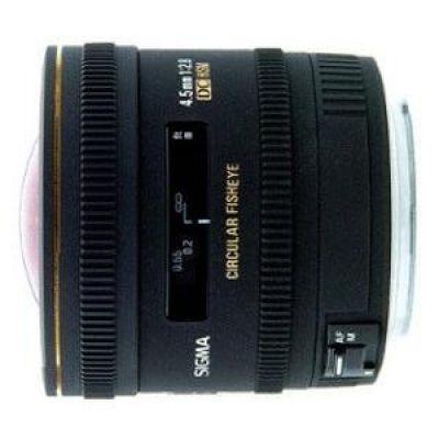 Sigma 4,5mm f/2.8 EX DC Festbrennweite Weitwinkel Objektiv für Nikon