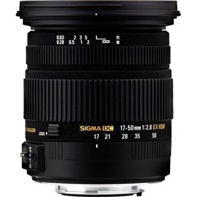 Sigma 17-50mm F2,8 EX DC OS HSM, Objektiv