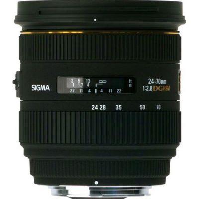 Sigma 24-70mm f/2.8 EX DG HSM Standard Zoom Objektiv für Canon
