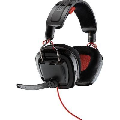 Plantronics GameCom 788 kabelgebundenes 7.1 Gaming Headset schwarz rot