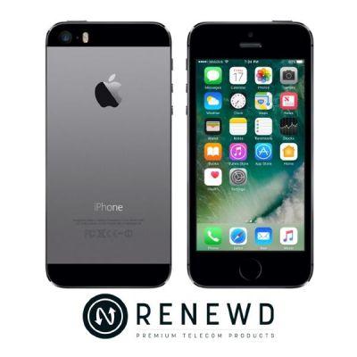 Apple  iPhone 5s 32 GB spacegrau Renewd