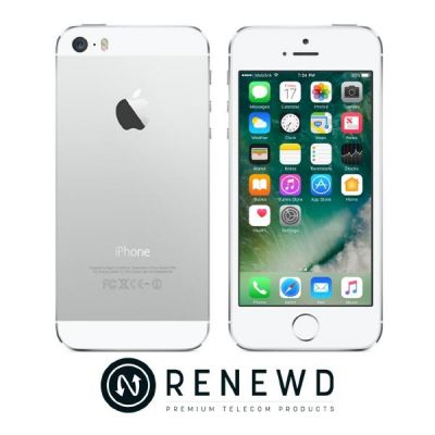 Apple iPhone 5s 32 GB silber Renewd - Preisvergleich