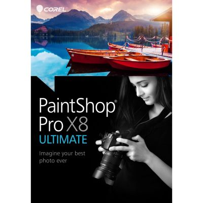 Corel PaintShop Pro X8 Corporate Edition 1-4 User