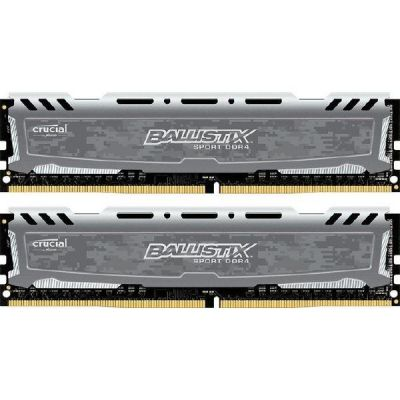 Ballistix 16GB (2x8GB)  Sport LT DDR4-2400 CL16 (16-16-16) RAM Kit