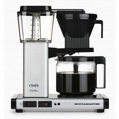 Moccamaster KBG 741 AO Kaffeemaschine Silber