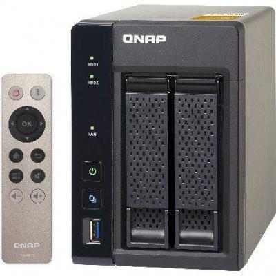 QNAP TS-253A-4G NAS System 2-Bay QTS-Linux Comb...