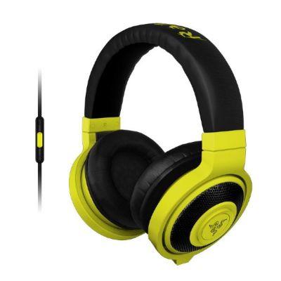 Razer Kraken Mobile Gaming Kopfhörer mit Mikrofon gelb - Preisvergleich