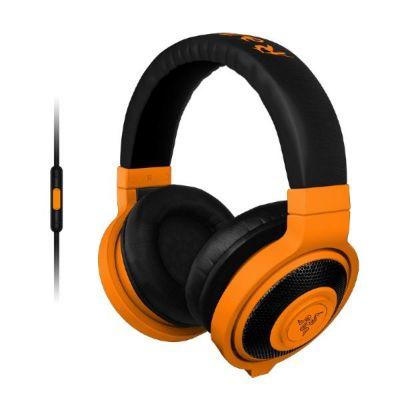 Razer Kraken Mobile Gaming Kopfhörer mit Mikrofon orange - Preisvergleich