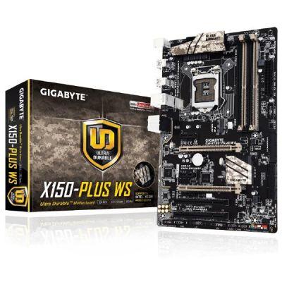 Gigabyte GA-X150-PLUS WS GL/USB3.0/SATA600/SATAe/M.2 C232 ATX Sockel 1151 - Preisvergleich