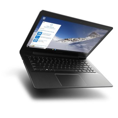 Lenovo IdeaPad 500S-14ISK Notebook schwarz i5-6200U Full HD matt Windows 10