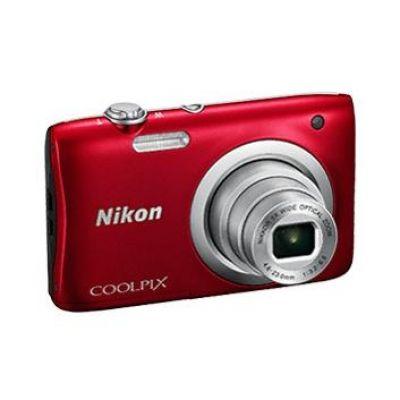 COOLPIX A100 Digitalkamera rot
