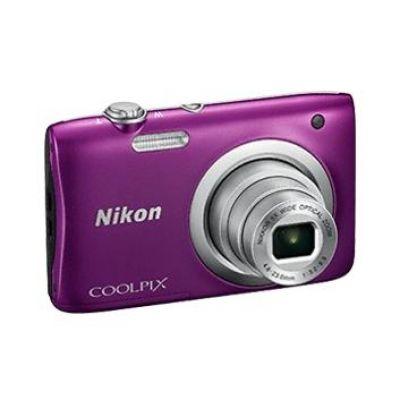 Nikon COOLPIX A100 Digitalkamera violett ornament