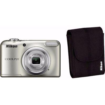 COOLPIX A10 Digitalkamera Kit silber + Tasche