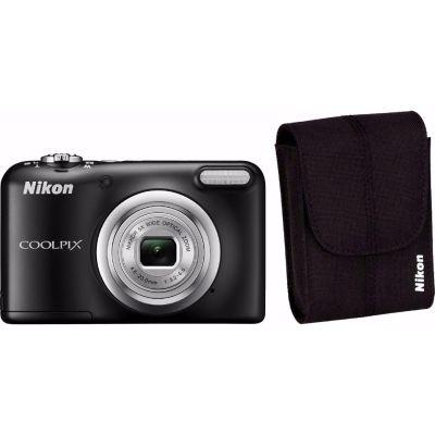 COOLPIX A10 Digitalkamera Kit schwarz + Tasche