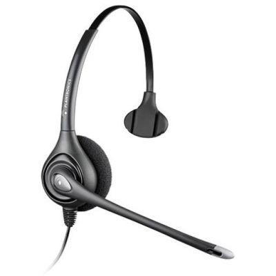 Plantronics HW351N/A SupraPlus Silver Mono schnurgebunde Headset 82311-41 - Preisvergleich
