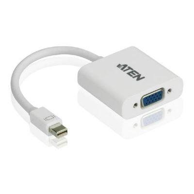 Aten  VC920 MiniDisplay Port VGA Adapter weiß