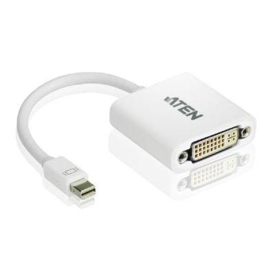 Aten  VC960 MiniDisplay Port DVI Adapter weiß