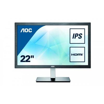 "AOC  i2276Vwm 54,6cm (21,5"") FullHD IPS Monitor 16:9 VGA/HDMI 5 ms 50.000.000:1"