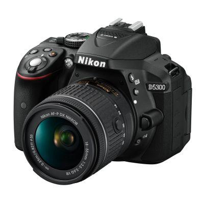 Nikon  D5300 + AF-P DX NIKKOR 18-55/3.5-5.6 G VR schwarz