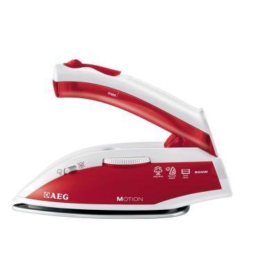 AEG DBT800 Motion Reise-Dampfbügeleisen weiß/rot